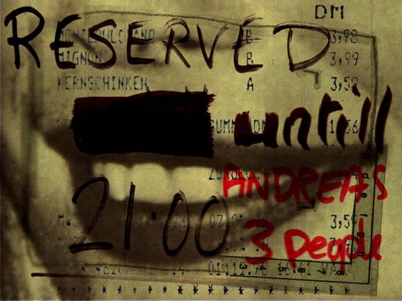 Reserviert ab 21Uhr